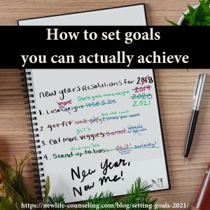 how to set goals you can actually achieve- list of failed new years resolutions funny