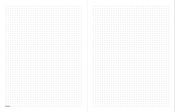 printable planner dotted paper