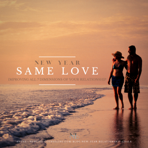 New Year Same Love- improving the 7 dimensions of your relationship with free worksheet- setting goals for the new year 2021